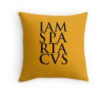 Spartacus - I Am Spartacus Throw Pillow