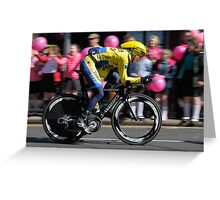 Giro d'Italia - In Belfast Greeting Card