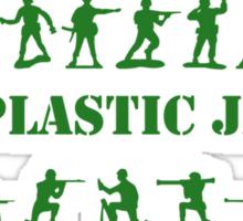 Green Army - Full Plastic Jacket Sticker