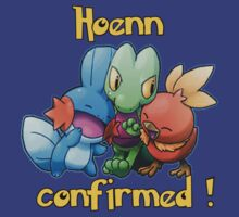 Hoenn remake confirmed - Mudkip Treecko Torchic by Cramer
