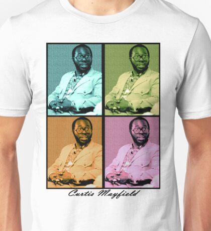 Curtis Mayfield Quatro Unisex T-Shirt