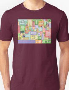 Jiu-Jitsu Gear Layout Unisex T-Shirt