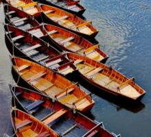 Row Row Row Your Boat Sticker
