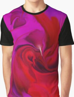 Woman in love - ABSTRACT-ART + Product Design Graphic T-Shirt