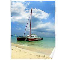 Sailing in Negril Poster