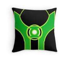 Green Lantern-Baz Throw Pillow