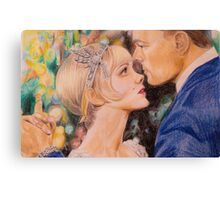 The Great Gatsby Drawing Canvas Print