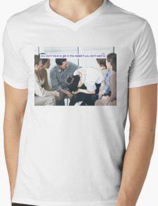 新世紀エヴァンゲリオン Mens V-Neck T-Shirt