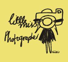 Little Miss Photographer Kids Tee