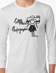 Little Miss Photographer Long Sleeve T-Shirt