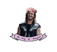 Thor, the king of ASSgard Photographic Print