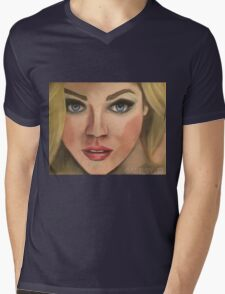 Angel Candice Mens V-Neck T-Shirt