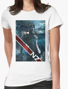 geth with n7 stripe Womens Fitted T-Shirt