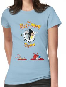 The Rick & Morty Show Featuring Ren & Stimpy Womens Fitted T-Shirt