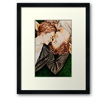 The Fault In Our Stars Drawing Framed Print