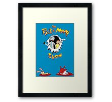 The Rick & Morty Show Featuring Ren & Stimpy Framed Print