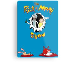 The Rick & Morty Show Featuring Ren & Stimpy Metal Print