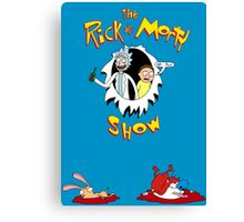 The Rick & Morty Show Featuring Ren & Stimpy Canvas Print