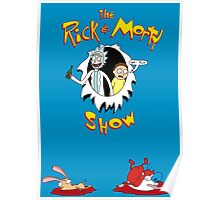 The Rick & Morty Show Featuring Ren & Stimpy Poster