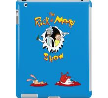 The Rick & Morty Show Featuring Ren & Stimpy iPad Case/Skin