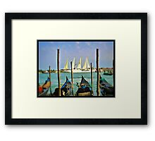 Venice View Framed Print