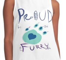 Proud To Be Furry Contrast Tank
