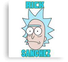 Rick Sanchez  Canvas Print