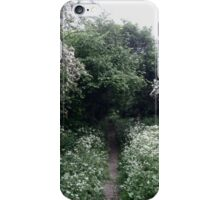 Overgrown Nature Path iPhone Case/Skin
