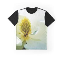 Sunny Magnolia Bloom on Water Graphic T-Shirt