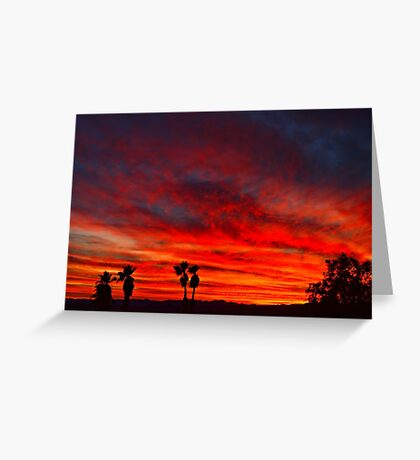 Vibrant Sky Greeting Card