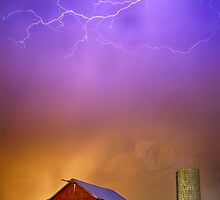 Colorful Country Storm by Bo Insogna