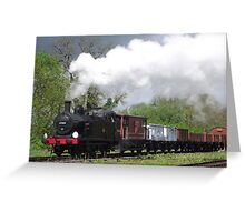 Jinty Freight Greeting Card