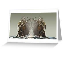 The Throne Room Greeting Card