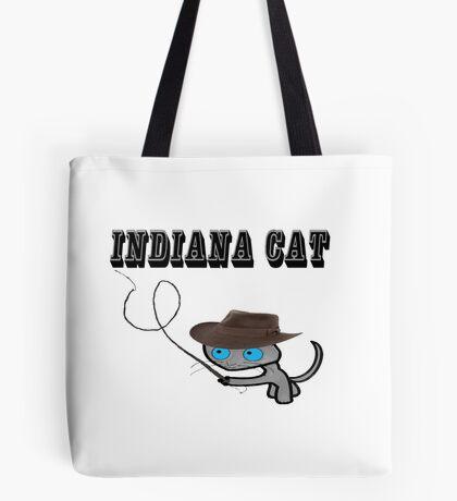 Indiana Cat Tote Bag