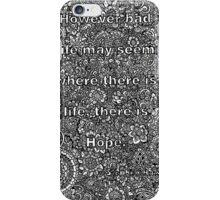 Zentangle iPhone Case/Skin