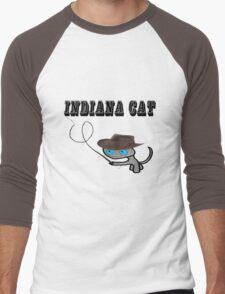 Indiana Cat Men's Baseball ¾ T-Shirt