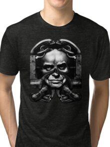 H. R. Giger (Hans Rudolf Giger) Tri-blend T-Shirt