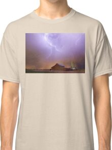 Country Stormy Night Classic T-Shirt