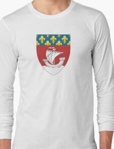 Lesser Coat of Arms of Paris Long Sleeve T-Shirt