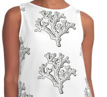 Coral Contrast Tank