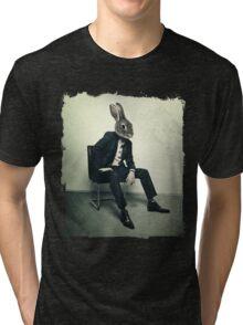 Stylish Rabbit Tri-blend T-Shirt