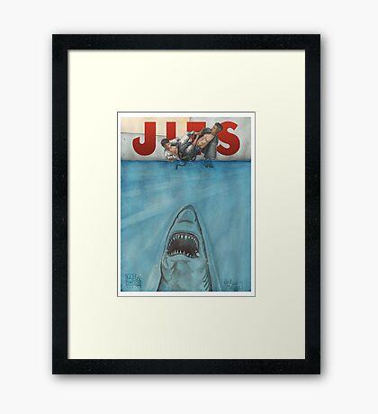 JITS - Mat is Ocean - TITLE ONLY Framed Print