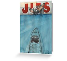 JITS - Mat is Ocean - TITLE ONLY Greeting Card