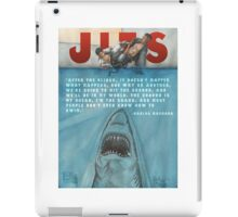 JITS - Mat is Ocean - TITLE AND QUOTE iPad Case/Skin