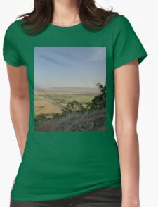 Mount Inkerman View - South, Queensland, Australia 2012 Womens Fitted T-Shirt