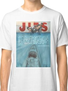 JITS - Mat is Ocean - TITLE AND QUOTE Classic T-Shirt