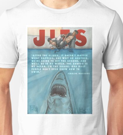 JITS - Mat is Ocean - TITLE AND QUOTE Unisex T-Shirt
