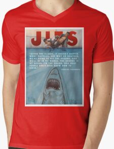 JITS - Mat is Ocean - TITLE AND QUOTE Mens V-Neck T-Shirt
