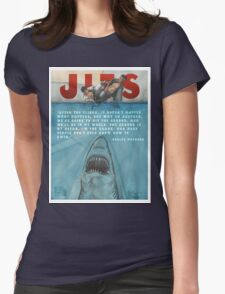 JITS - Mat is Ocean - TITLE AND QUOTE Womens Fitted T-Shirt