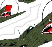 Flying Tigers, Attack Sticker